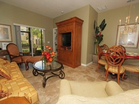 3 Bedroom 3 Bath Condo In Resort Community. 2814OD - Image 1 - Orlando - rentals