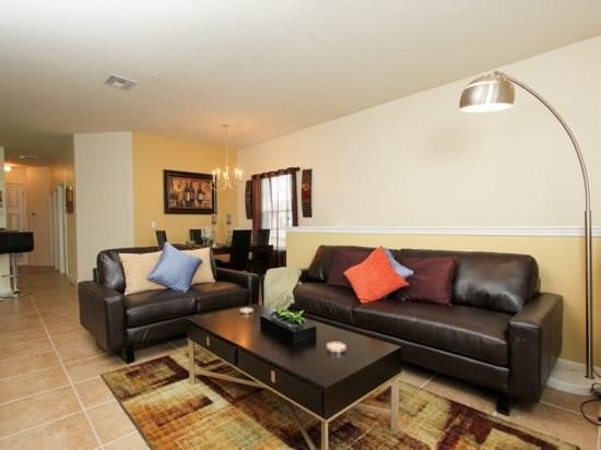 3 Bedroom 2 Bath Condo in Kissimmee Resort. 2712OD - Image 1 - Orlando - rentals