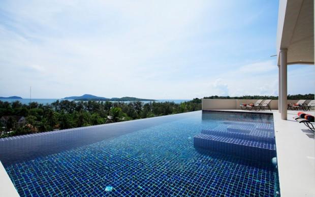 9 Bedroom ocean view pool villa for rent in Rawai - raw19 - Image 1 - Rawai - rentals