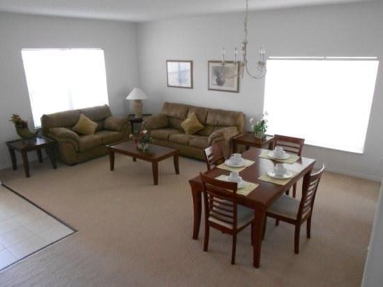 Living Room - HL7P1002BD Orlando 7 BR Pool Home HL7P1002BD - Orlando - rentals