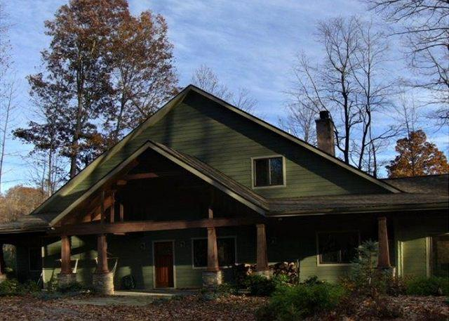 6 Acres, Sleeps 10, Dog Friendly!,HOT TUB, HIKE, Fish, Canoe, or Just Relax! - Image 1 - Deep Gap - rentals