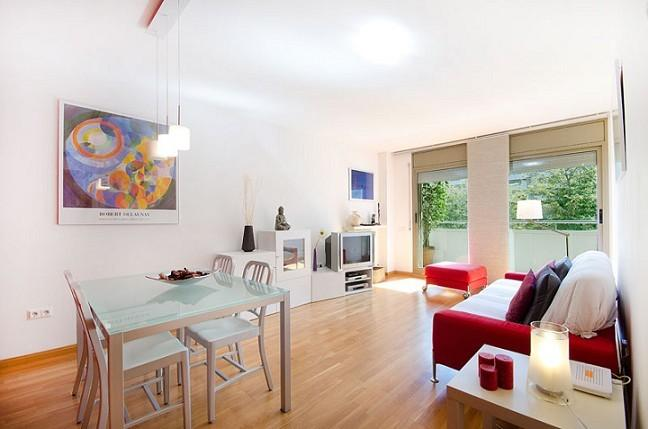 Living room - B362 Beach 3 Bedroom - Barcelona - rentals