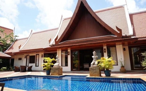 4 Bedroom Thai Style Pool Villa for Rent in Naiharn - nai49 - Image 1 - Kata - rentals