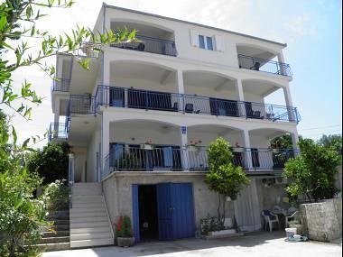 house - 35358  A2 Adriatic (2+2) - Okrug Gornji - Okrug Gornji - rentals