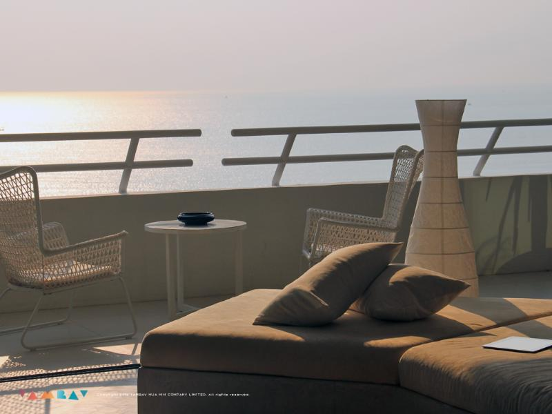 Lounging with amazing views - 2 BR Beachfront apartment with Amazing views! - Hua Hin - rentals