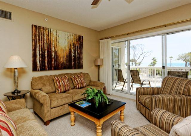 Barrington Arms 205 - Barrington Arms 205, 3 Bedrooms, OceanView, Pool & Spa, Sleeps 8 - Hilton Head - rentals