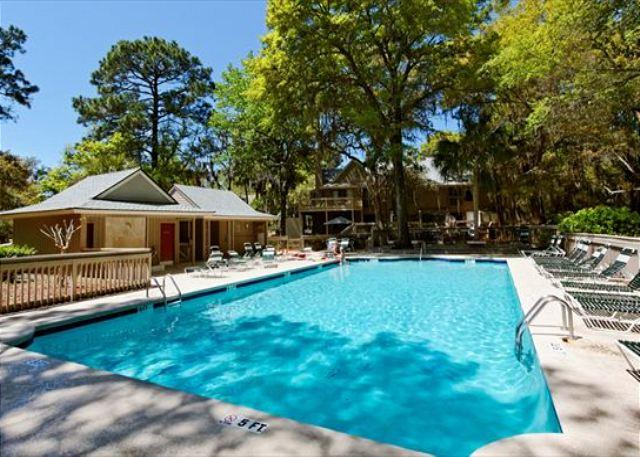 Pool at Beachwalk - Beachwalk 204, 2 Bedrooms Pool, near Beach, Shipyard Plantation, Sleeps 7 - Forest Beach - rentals