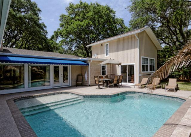 Folly Field 44 - Folly Field 44, Private Pool, 5 Bedrooms, Walk to Beach, Sleeps 12 - Hilton Head - rentals