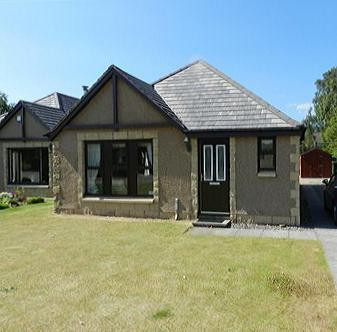 From outside. - Great Holiday home in the highlands - Aviemore - rentals