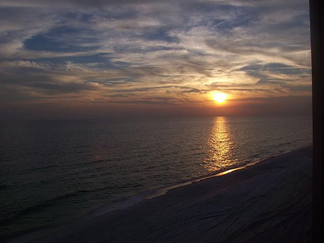 Famous for our sunsets as seen from our balcony! - Gorgeous Gulf View-Beautiful White Sandy Beach! - Miramar Beach - rentals