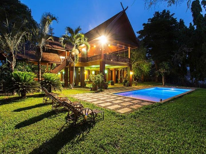Spectacular Private Lanna Villa on River - 7BD6BA - Image 1 - Chiang Mai - rentals