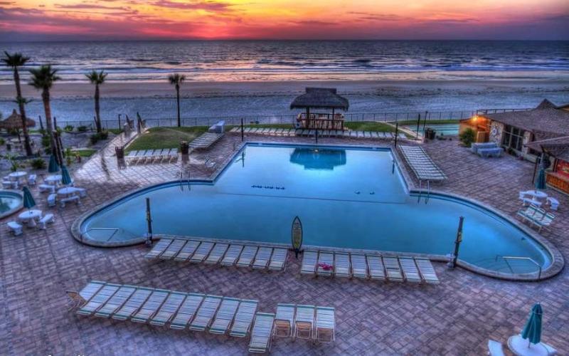Hawaiian Inn 329 Direct Oceanfront, Balcony Stunning Views !!! - Image 1 - Daytona Beach - rentals