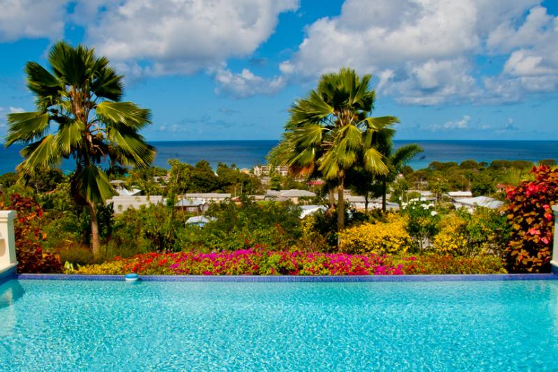 Infinity edge pool with fantastic sea view - Luxury 4 bed villa with pool, stunning sea views - Lower Carlton - rentals