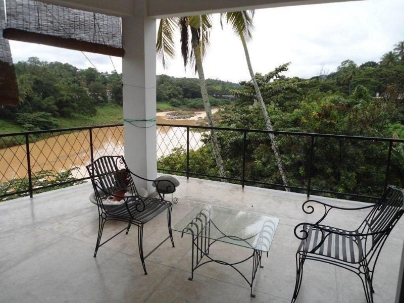 Covered Terrace view - Waterfront 2Bedroom First Floor Serviced Apartment - Kandy - rentals