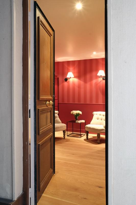 View to entrance - A 1-bedroom jewel in the heart of St Germain - Paris - rentals