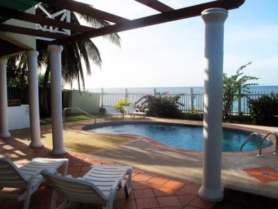 Poolside & Beachfront! - Hibiscus - Airy 4BR Luxury Beachfront Villa - Black Rock - rentals