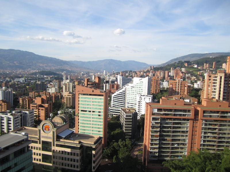 NEW - 1b/2ba Penthouse with Rooftop Pool, Gym - Image 1 - Medellin - rentals
