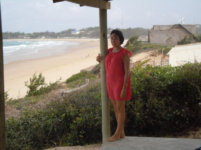 Terrace and beach - On the Dune Tofo Mozambique - Tofinho - rentals