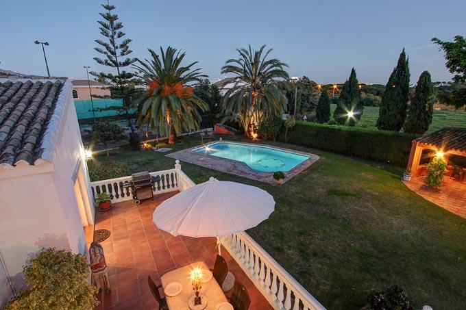 Luxury Villa with Private Tennis Court - Image 1 - Estepona - rentals