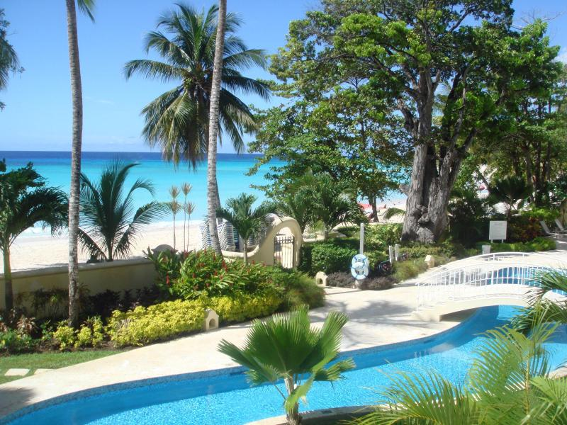 View From Apartment Balcony - 115 Sapphire Beach - Saint Lawrence Gap - rentals