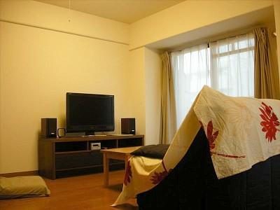 Living room - Beautiful Family Apartment in Central Kyoto - Kyoto - rentals