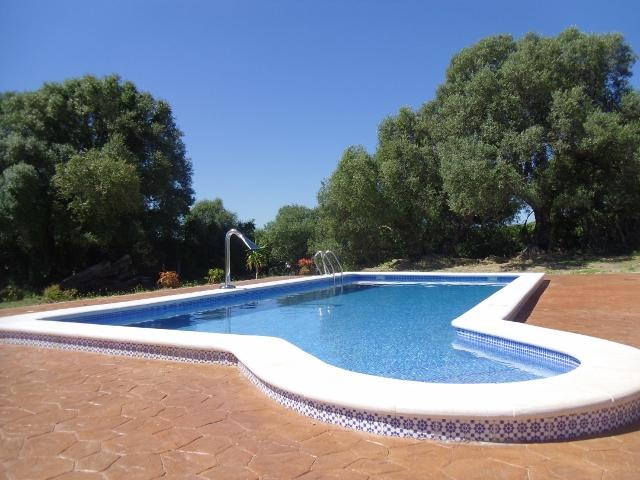 Pool and sky - Rural Finca with Pool near Ocean - Vejer - rentals