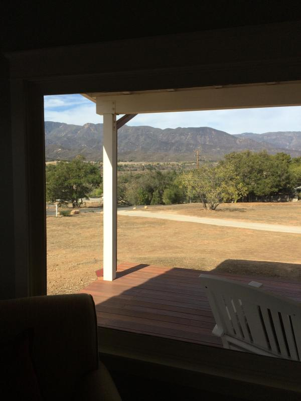 front deck view - Mountain View Bunglow - Ojai - rentals