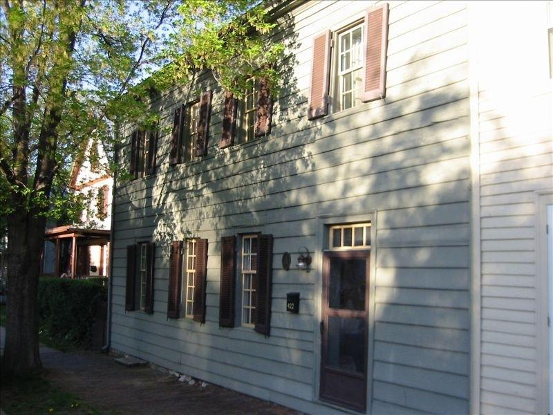 Front of The Peter Miller House - Beautiful home in the heart of Old Town Winchester - Winchester - rentals