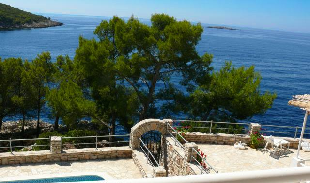 View from property - Sesula Bay Resort -Unit 2 - Maslinica - rentals