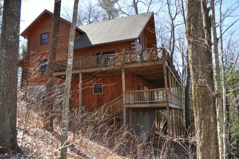 Whisper lake Cabin - Logged Inn - Sapphire - rentals