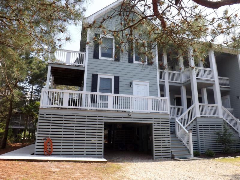 Front facade of our beach home - Huge beach home in N. Bethany - Bethany Beach - rentals