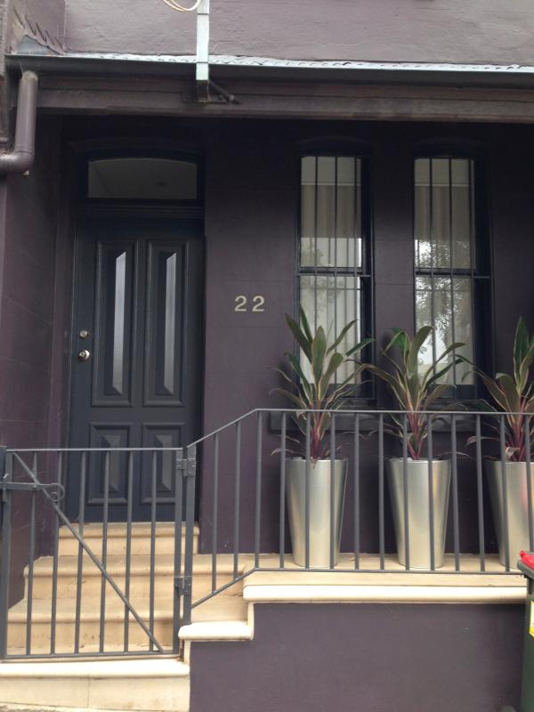 Front of Terrace from Street - Beautiful Renovated terrace - Inner City - Sydney - Sydney - rentals