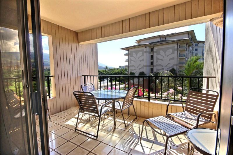 Another view looking out from the lanai. - Kaanapali Alii #KAL-362 Kaanapali, Maui, Hawaii - Kaanapali - rentals