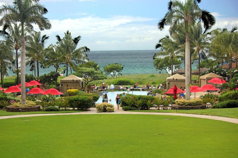 This very unique Full Ocean View unit has endless views and is very well protected from the Maui Trade Winds if they happen to be blowing. - Honua Kai #HKH-229 Kaanapali, Maui, Hawaii - Ka'anapali - rentals