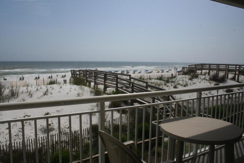Think of waking up to this view every morning! - AWESOME GULF FRONT COZY CONDO W/ BCH SERVICE! - Fort Walton Beach - rentals