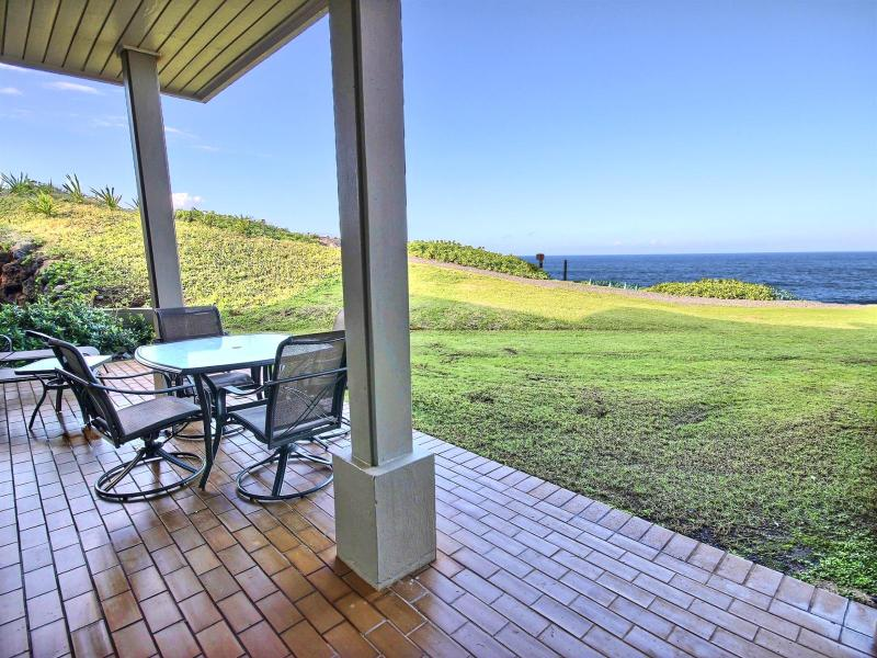 Great views from the lanai. This is looking south towards the Kapalua Ocean Trails.  - Kapalua Bay Villas #KBV-30G2 Kapalua, Maui, Hawaii - Kapalua - rentals