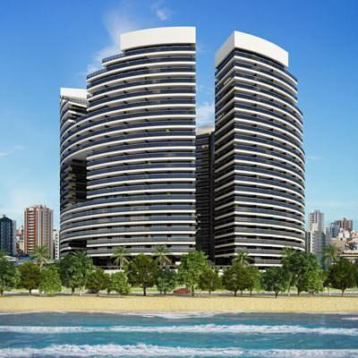 Condo on the beach 1509 Landscape - Image 1 - Fortaleza - rentals