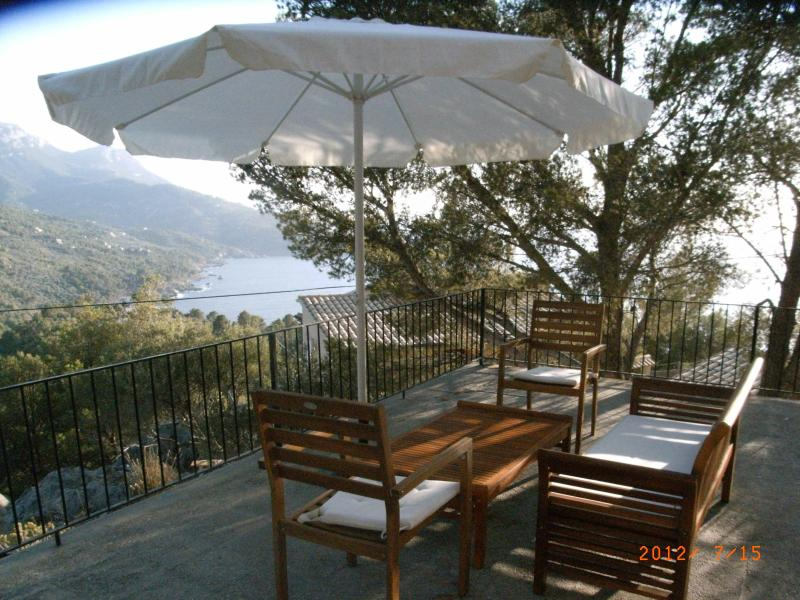 Terraza 1 - Terrace 1 - Costa Deiá Unforgettable place: Come to Ca'n Olona - Deia - rentals