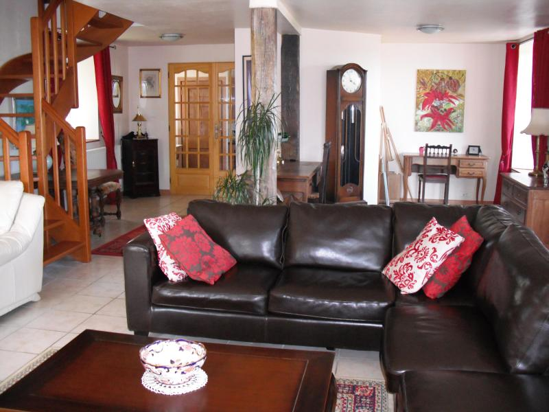 Lounge - farm house in central brittany - Plessala - rentals