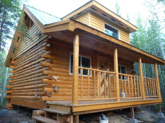 Cabin in the summer time - Cosy Character Log Cabin in a Forest Setting - Fairbanks - rentals