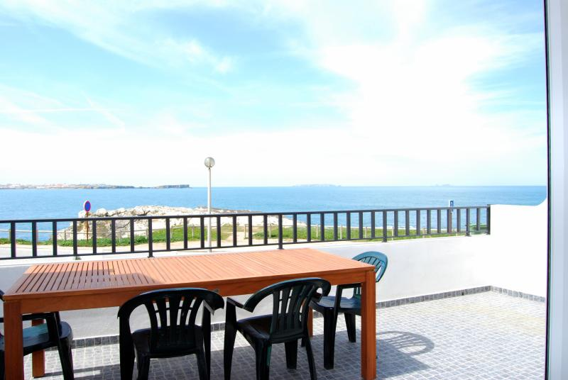 Balcony - Sara House, 3 bedroom house in the Baleal Island - Peniche - rentals