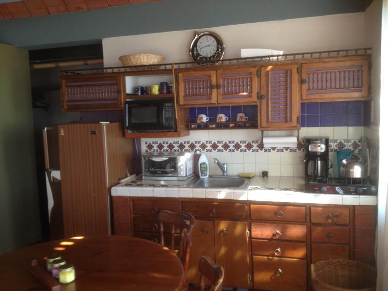 kitchen - Casita on the beach in Kino Viejo - Bahia Kino - rentals