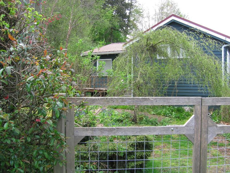 Front of Home - Salmon Run - Sunsets, Island and Water Views - Lummi Island - rentals
