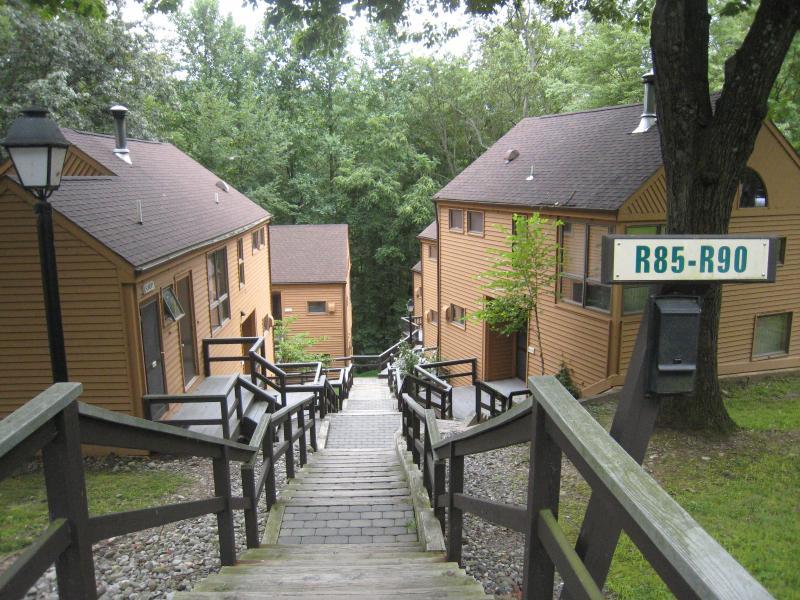 Villa exterior - 2 Bedroom Villa in Shawnee Village - Shawnee on Delaware - rentals
