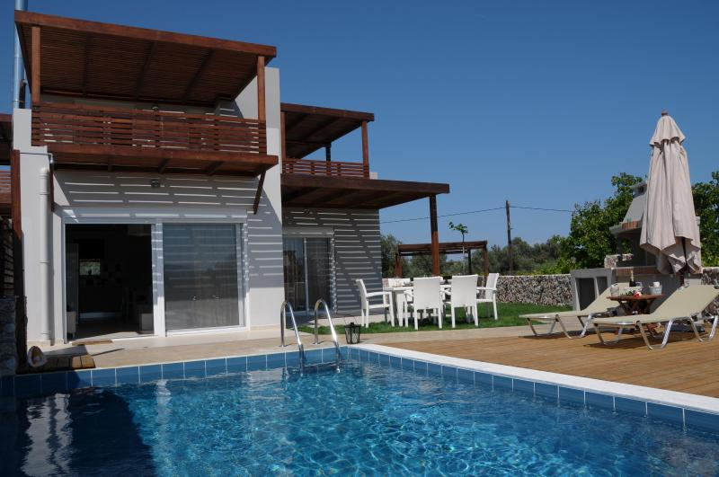 POOL AREA - Villa Andromeda ,Haraki,rhodes - Haraki - rentals