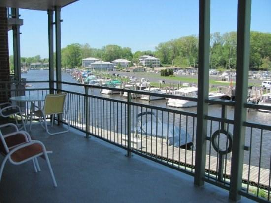 View from the private balcony - River Watch #205 - South Haven - rentals