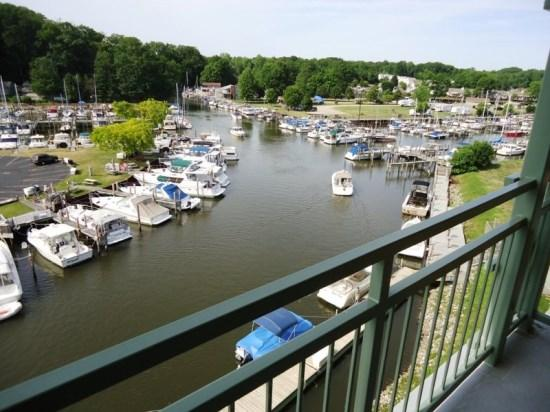 River view - Riverwatch 601 - Riverfront Penthouse Condo - South Haven - rentals