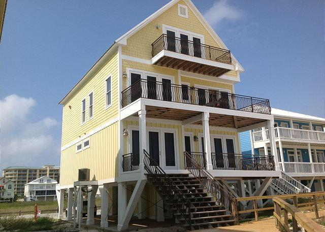 Beach Side - Beautiful Beach Front House, Handicap Accessible! Still vacancies in 2016! - Fort Morgan - rentals