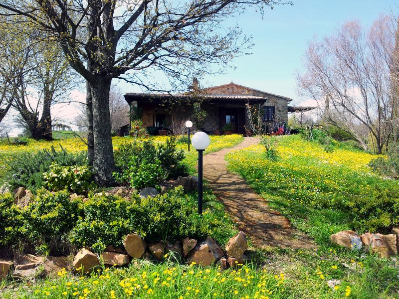 Rose, Country House in Tuscan Maremma - Image 1 - Montemerano - rentals
