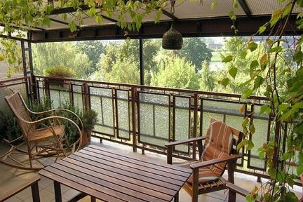 Apartment with huge terrace overlooking the river - Image 1 - Krakow - rentals